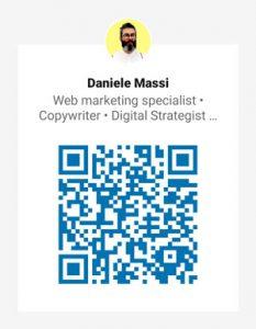 Daniele Massi QR Code - Linkedin
